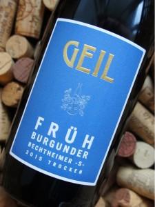 Jeg har intet at udsætte på denne etiket - men havde vinen været en rød bourgogne og ikke en tysk rødvin, ville jeg have været mere skeptisk.